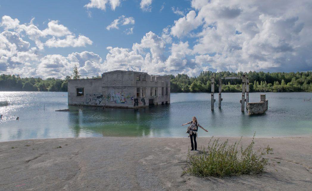 Rummu quarry: een verlaten sovjet gevangenis