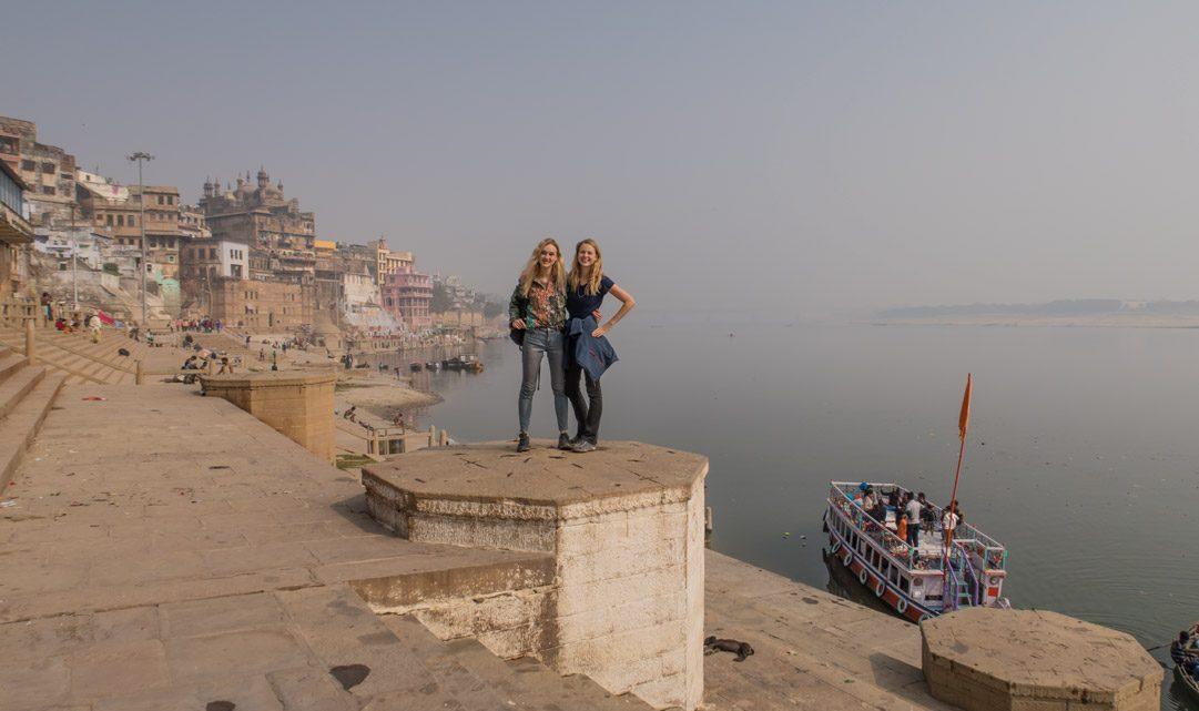Crematies aan de Ganges