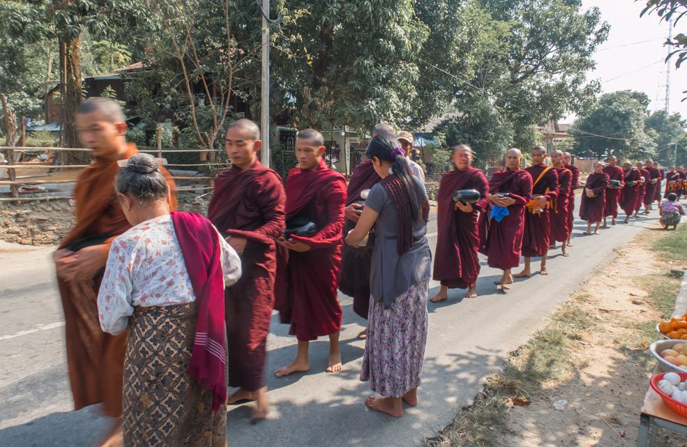 Leven in Myanmar